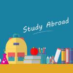 Study Abroadと書かれたポスター