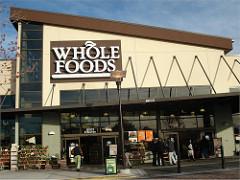 Whole Foodsという名前のスーパー