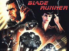 映画Blade runnerの宣伝ポスター