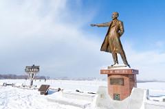クラーク博士の銅像が立つさっぽろひつじが丘展望台