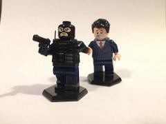 凶悪犯と人質のフィギュア