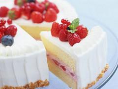 分配されるケーキ一切れ