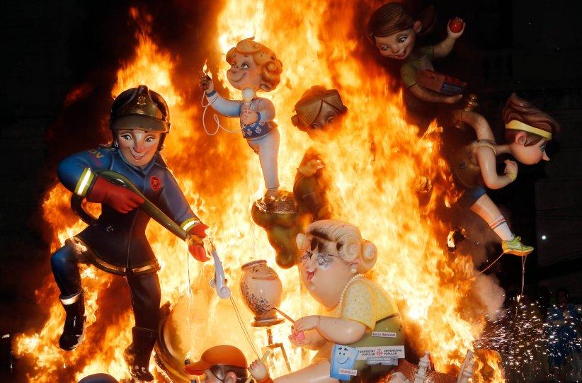 バレンシアの火祭