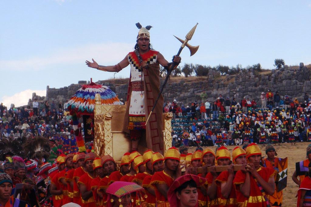 ペルークスコで実施されるインティライミ祭