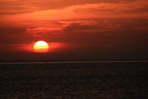 マニラ湾のサンセット