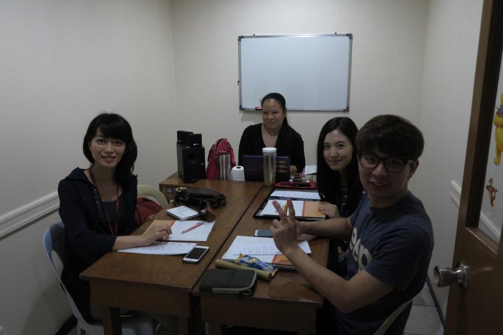 PINESのグループ授業