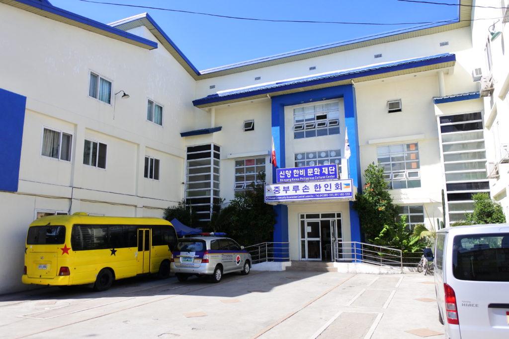 コリアンタウンの韓国人学校