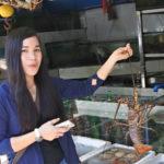 マニラ湾岸にある海鮮市場とレストランの複合広場Dampa(ダンパ)