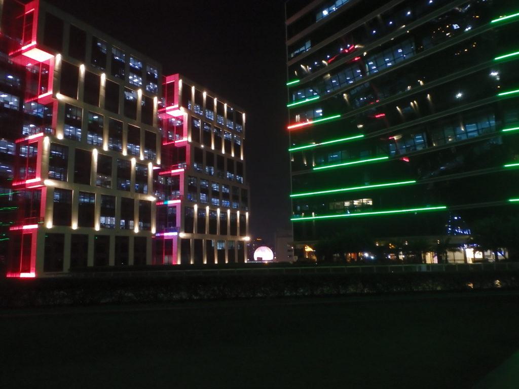 MOAの夜景