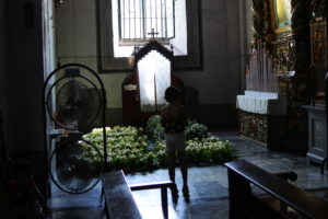教会内部花壇