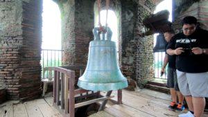 ベルタワー最上階のおおきなか釣鐘