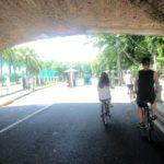 マニラ古都イントラムロスを自転車で回る