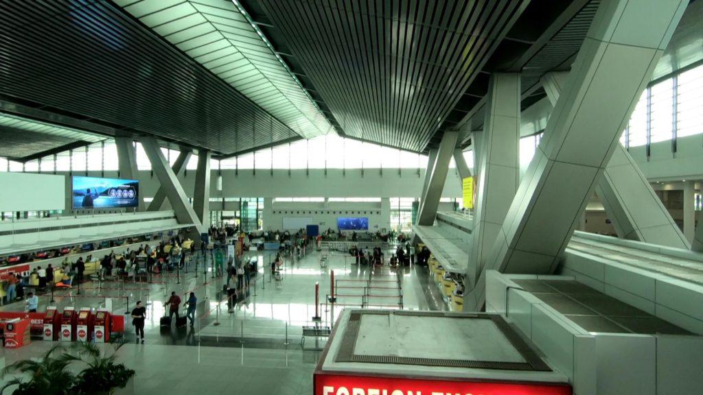 ターミナル3の2階搭乗口