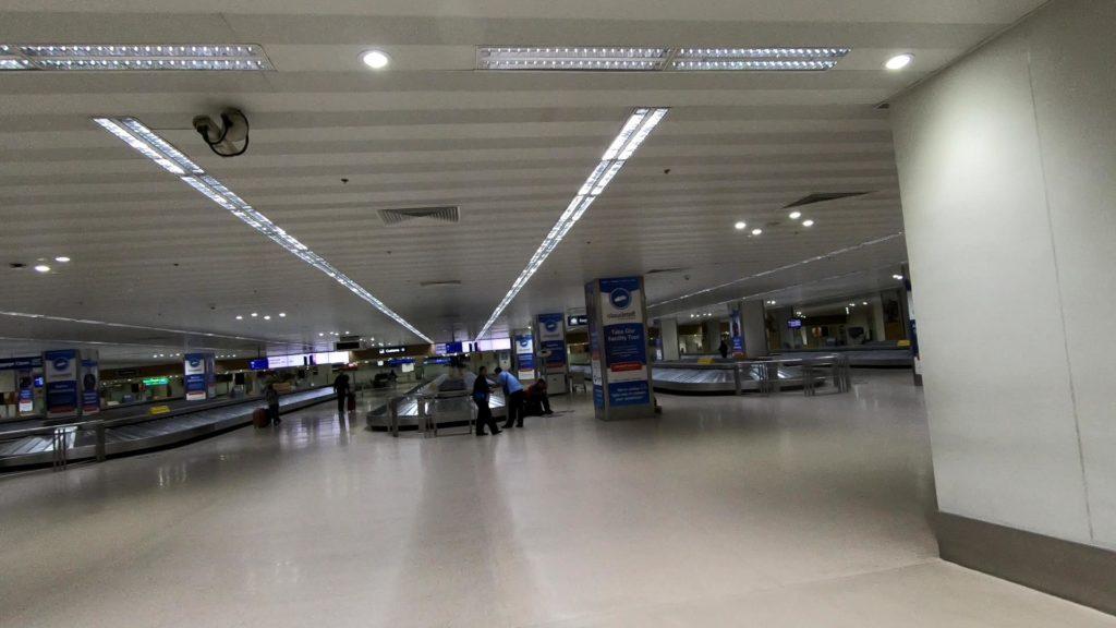 ターミナル1のバッゲージクレーム