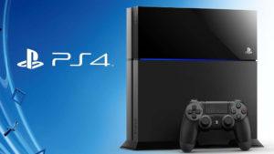 PS4の本体とコントローラーセット