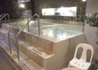 サウナ富士の湯舟