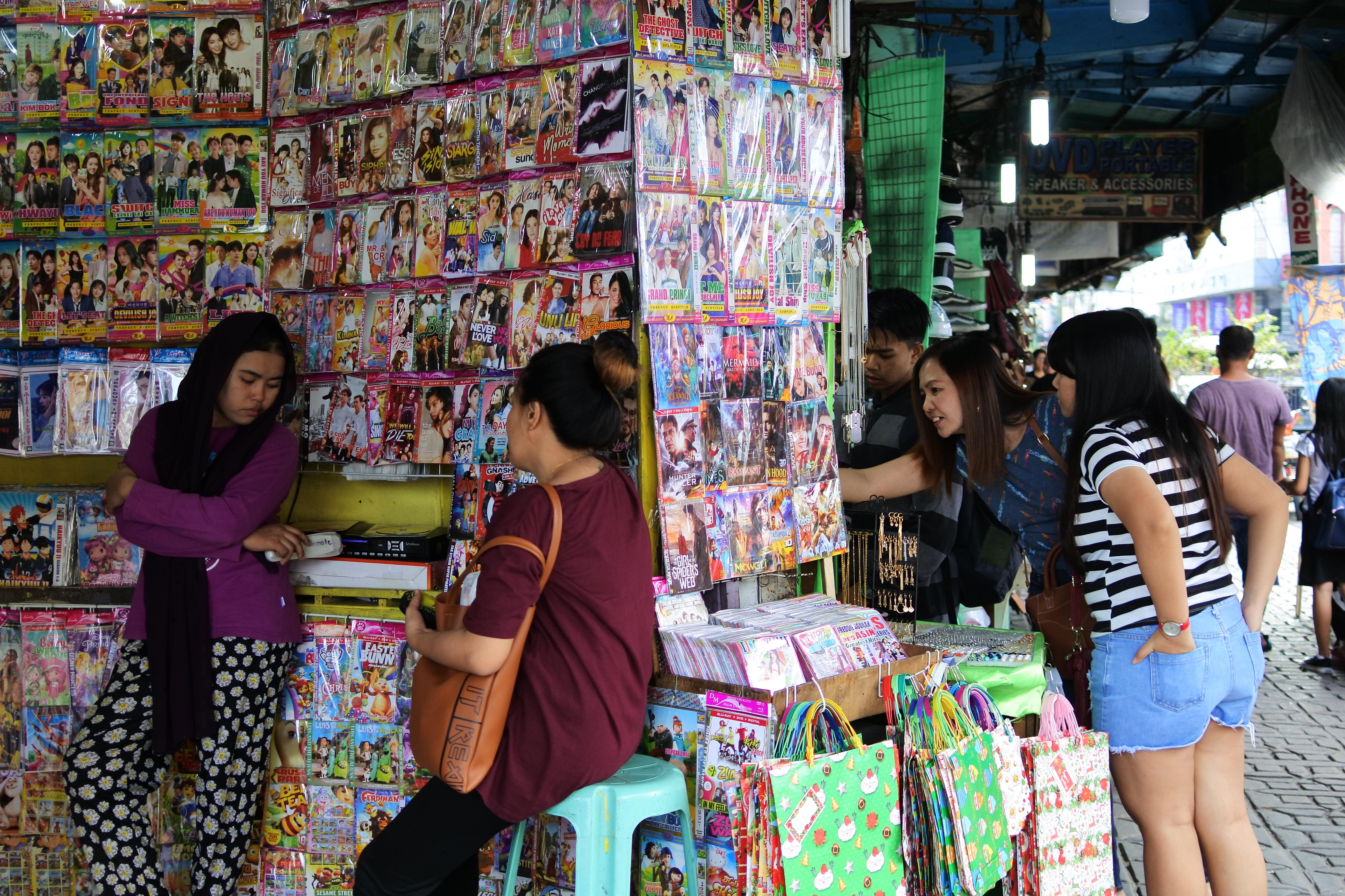 フィリピンの海賊版DVD産業事情