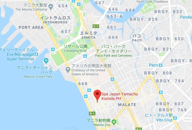 山忠のグーグルマップ
