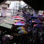 マニラ・バクラランを歩く:市場と教会と横丁
