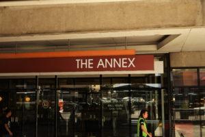 Annexの正面玄関