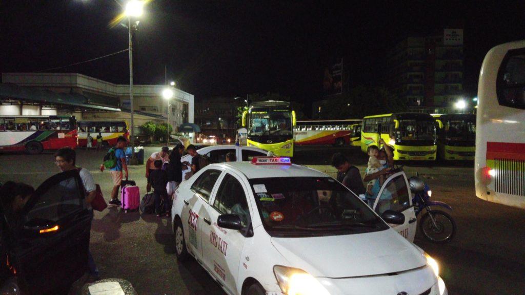 オスロブ行きのバスがあるセブ・サウスバスターミナル