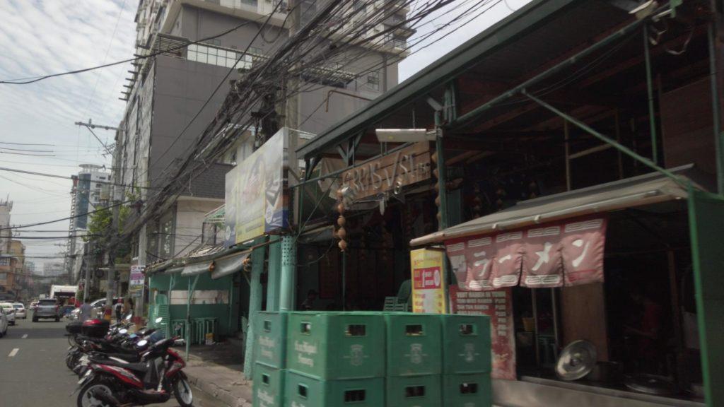 ラーメンコーナーがあるフィリピン食堂