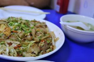 スープなし刀削麺