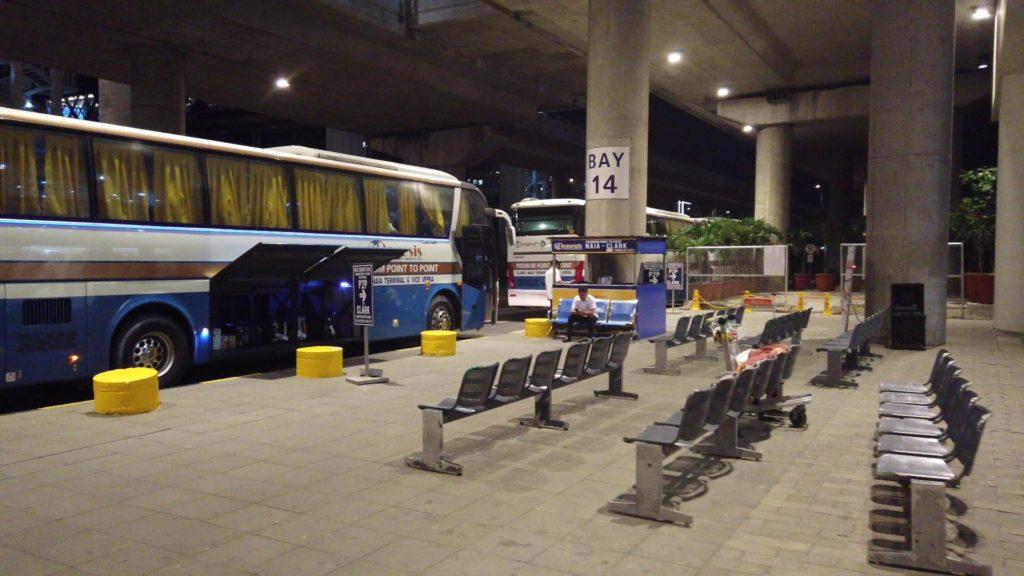 TTPTバス乗り場
