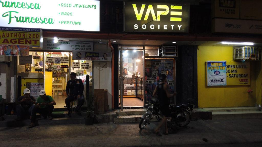 アンヘレス・バリバゴのVape Shop