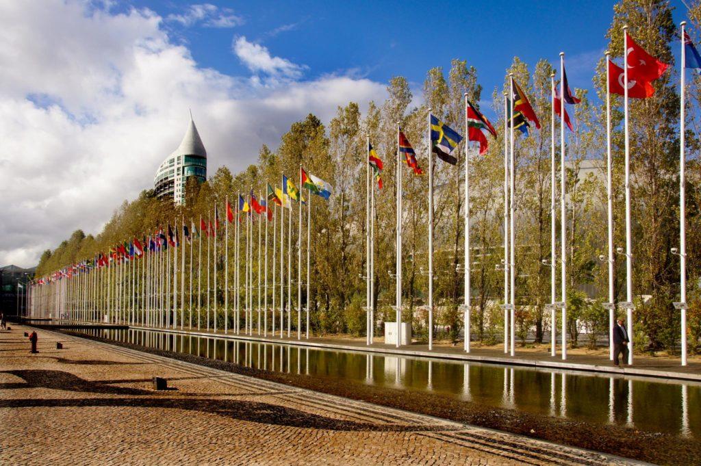 世界各国いろいろな国の旗