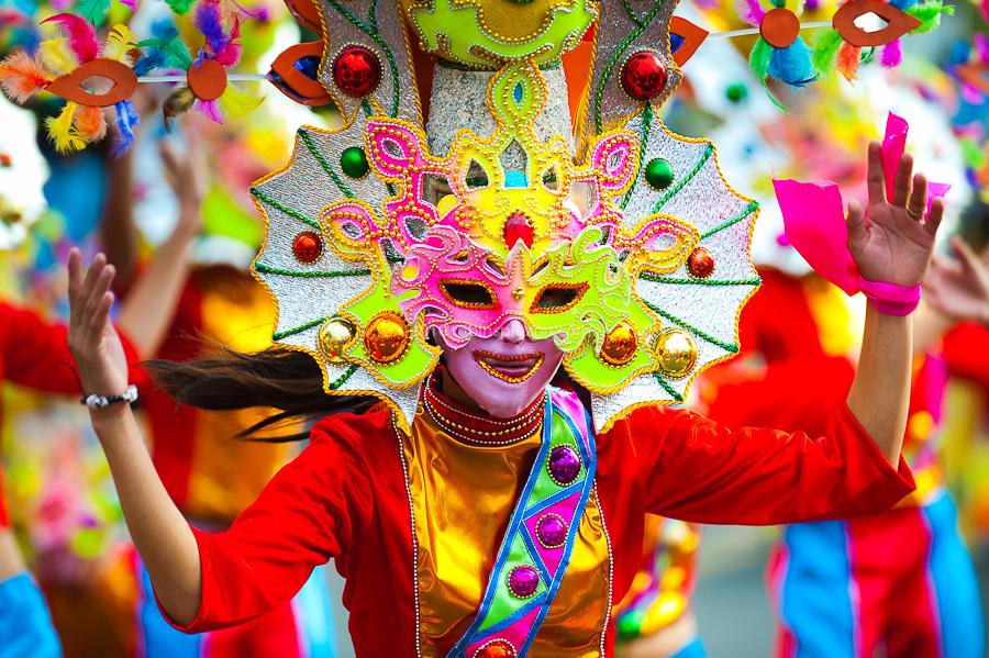 バコロドのマスカラ祭り