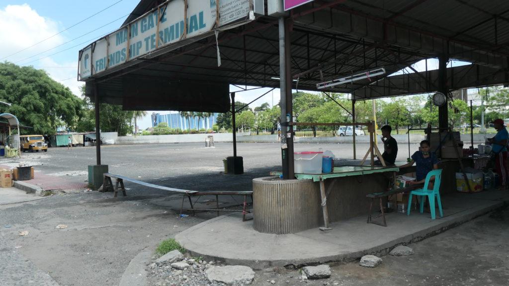 バリバゴのバスターミナル